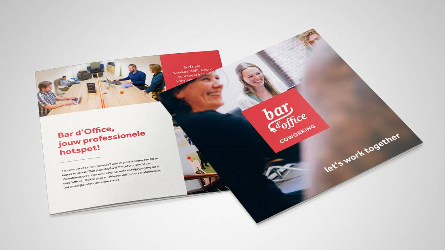Bar d'Office | Mockup brochure