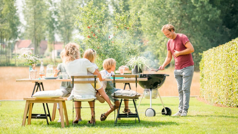 Campagnebeeld familie Breng je zomer op smaak