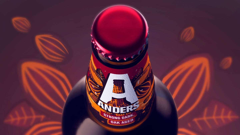 Mockup etiket Bier Anders