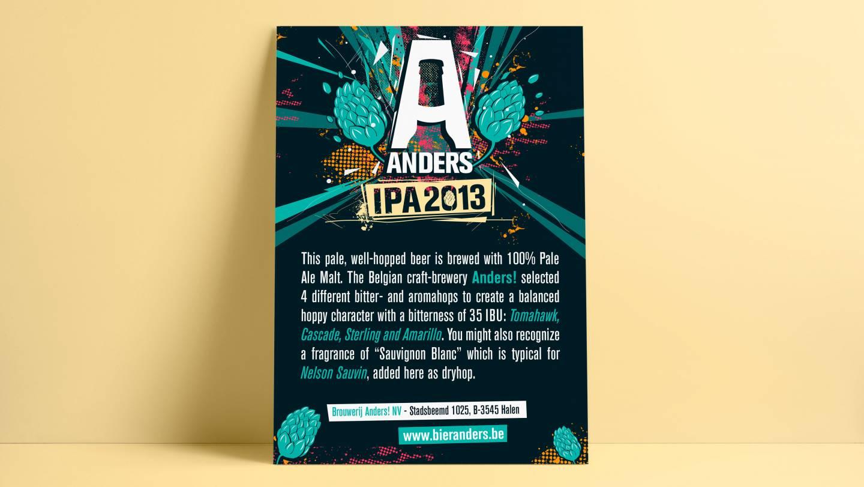 Mockup Bier Anders campagneposter