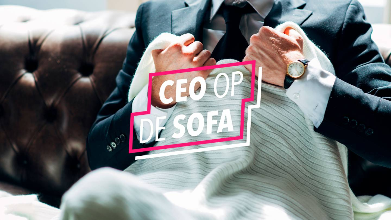 CEO op de Sofa campagne