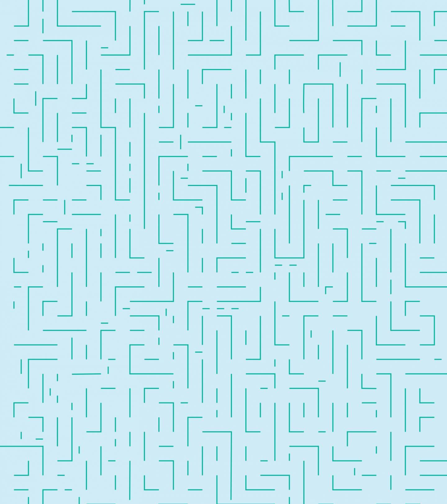 Afbeelding van het gebruikte patroon in de huisstijl van de Digitale Week