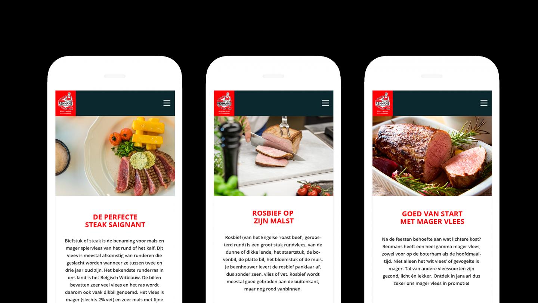 Renmans website contentplan