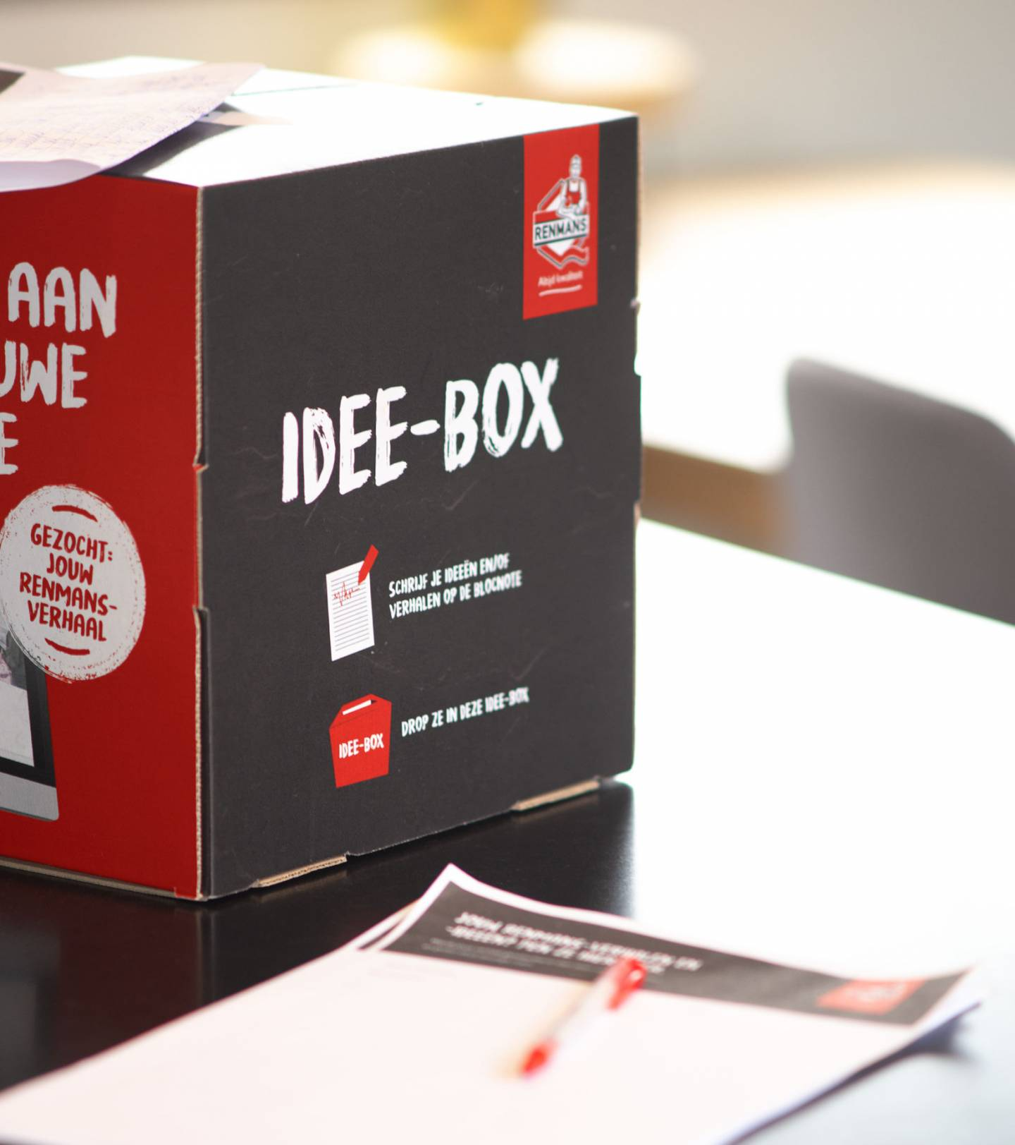 Foto van de Renmans idee-box